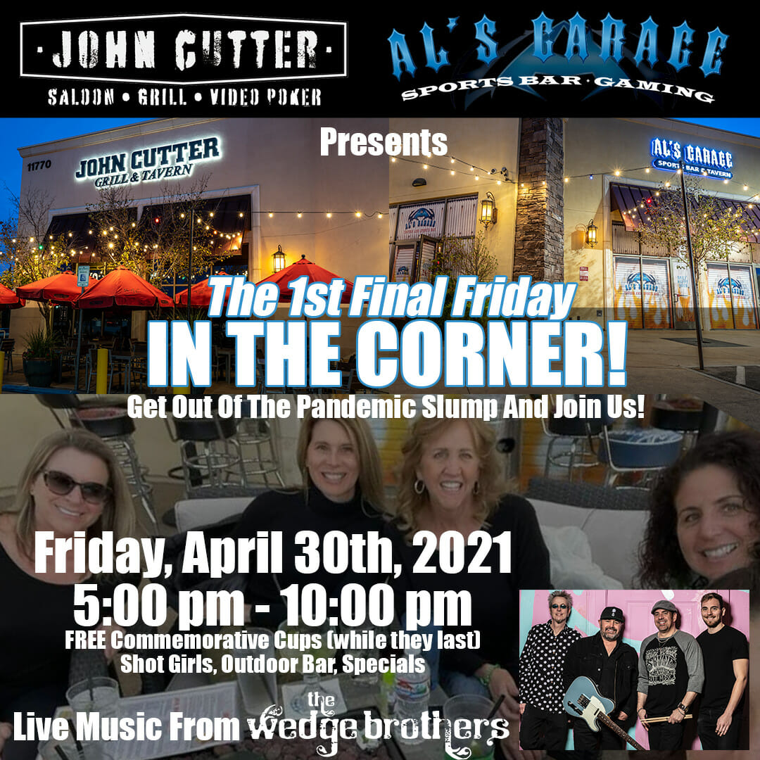First Final Friday Party with The Wedge Brothers
